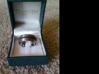 i have a mens titanium ring i believe its size