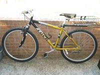 mens TREK alpha 4500 mountain bike. it has 24 speeds
