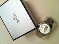 Up for sale is a MENS BULOVA WATCH In stainless steel,
