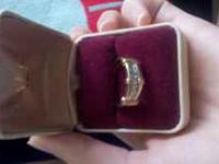 This a mend wedding ring I bought for 1000.00 and I am