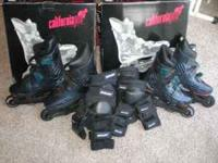 Mens' size 11 1/2 or 12 & womens' size 6/7 dark blue