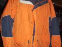 FOR SALE IS A WARM MENS XL SIZE COLUMBIA BRAND COAT !