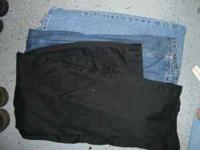 Mens Pants Two pair of jeans one is 44 one is 48 the