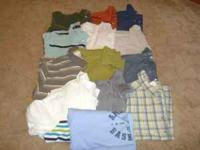 There are 13 shirts total 4 Button Down (4 on the