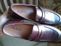 Worn once 9/10 condtion mens Aldo size 12 They do run