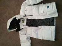 x game edition mens snowboarding coat size large.