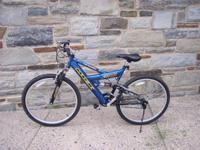Mens MGX 21 Speed DUAL Suspension Mountain Bike. WHEN,