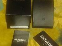 Brand new 100% authentic movado gentry 2 tone , I