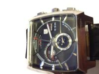 Mens Tag Heuer Monaco Watch...Please let me know if