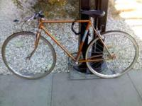 this bike is very rideable. It is from the 1960s. it