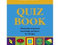 Mensa Quiz Book $25 Full title = Mensa Quiz Book -