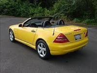 Rare discover in Mint problem ... low mileage 99 SLK