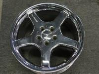 I have a set of five 18 inch OEM Mercedes AMG CHROME
