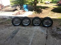 Up for sale is a staggered set of 4 authentic wheels