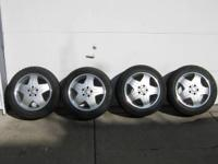 A full set of 4 all-terrain tires Bridgestone 225/55R17