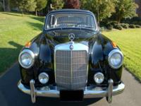 1958 MERCEDES BENZ 220s Four Door Sedan Vin: 180  A
