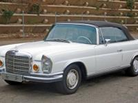 This 1971 Mercedes-Benz 280 SE 3.5 2dr Cabriolet