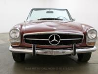 1968 Mercedes Benz 280SL1968 Mercedes Benz 280SL with 2