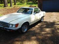 This is a 1972 Mercedes-Benz 350 SL, powered by a 4.5L
