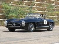 This 1958 Mercedes-Benz 300SL 2dr Roadster Convertible