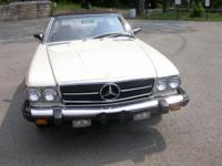 1985 Mercedes-Benz 380SL - 8-cylinder 3.8liter engine -