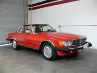 This 1987 Mercedes Benz 560SL is finished in beautiful
