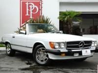 Highly original 1987 Mercedes-Benz 560SL Roadster in