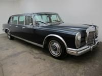 1967 Mercedes-Benz 600 6-Door Pullman 1967