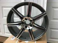 mercedes benz rims with tires they are staggered tires