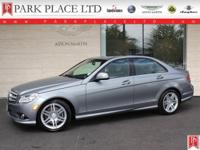 2008 Mercedes-Benz C350 Sedan in Palladium Silver with
