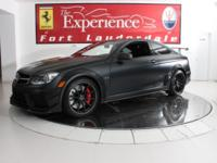 This is a Mercedes-Benz C63 AMG for sale by