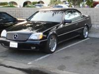 1998 Mercedes Benz black exterior on Grey on black
