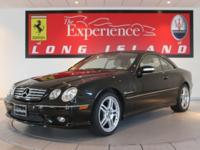 2006 Mercedes-Benz CL55 AMGThis Obsidian black over AMG
