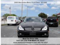 MERCEDES BENZ CLS 550 2008 FOR ONLY $25.900 , LOW MILES