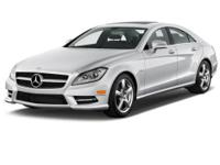 Gorgeous 2012 CLS 550 4MATIC, silver with black