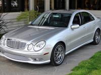 2005 Mercedes-Benz E55 AMG VIN: WDBUF76J45A750493