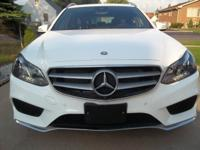 2014 MERCEDES E350 WAGON. ALL WHEEL DRIVE WITH 5K MILES