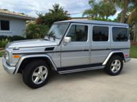 My 2008 Mercedes G500 Sport Utility Vehicle with 78,248
