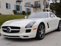 This 2011 Mercedes-Benz SLS AMG 2dr SLS 2dr Cpe 6.3L