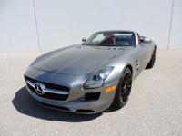 This is a Mercedes-Benz SLS AMG for sale by CNC Motors.
