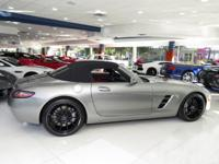 This 2012 Mercedes-Benz SLS AMG 2dr 2dr Roadster SLS