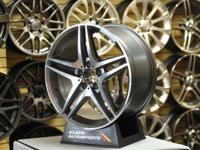 Mercedes AMG style wheels. sizes: 19x8.5, 19x9.5