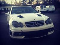 Nice customized 2002 c230 coupe with body kit if a 2007