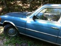 1974 Mercedes 450 Sel available for car parts. 4 door