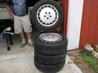 Tires and Wheels from my Mercedes 300D . In great