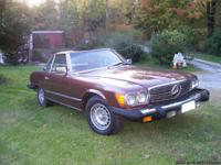 1978 mercedes 450SL convertable with only 53,000