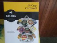 I HAVE A CAROUSEL FOR YOUR K-CUPS OF ALL KINDS. NEVER