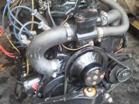 Used mercruiser motor will demo on garden hose motor
