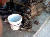 Mercruiser 250 hp inline 6 clyinder motor parts-good