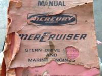Service manual for stern drive and marine engines. 4,6